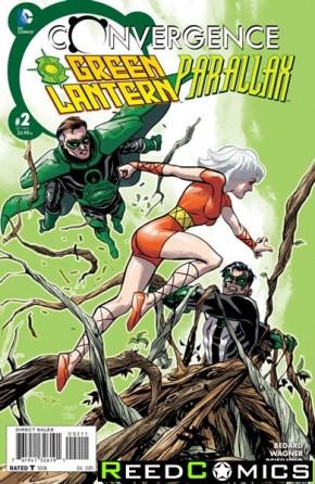 Convergence Green Lantern Parallax #2