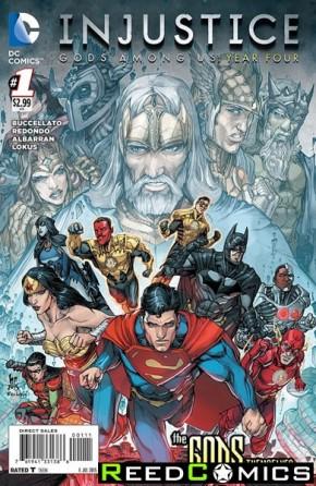 Injustice Gods Among Us Year Four #1