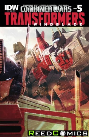 Transformers Windblade Combiner Wars #3 (Subscription Variant Cover)