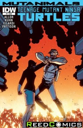 Teenage Mutant Ninja Turtles Mutanimals #4 (Subscription Variant Cover)