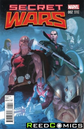 Secret Wars #2  (1 in 25 Ribic Variant Cover)