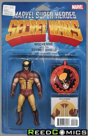 Secret Wars #2 (Christopher Action Figure Variant Cover)