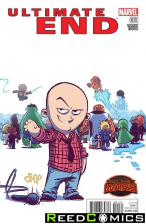 Ultimate End #1 (Skottie Young Baby Variant Cover)