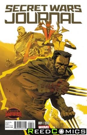 Secret Wars Journal #1 (1 in 25 Incentive Variant Cover)