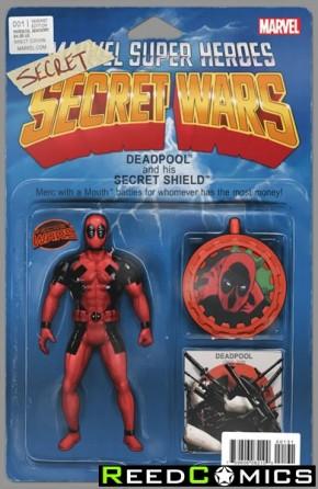 Deadpools Secret Secret Wars #1 (Action Figure Variant)
