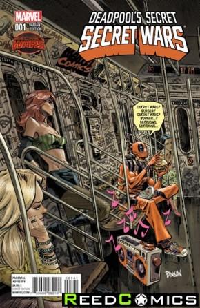 Deadpools Secret Secret Wars #1 (1 in 25 Panosian Incentive Variant Cover)