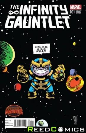 Infinity Gauntlet #1 (Skottie Young Baby Variant Cover)