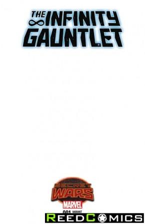 Infinity Gauntlet #1 (Blank Variant Cover)