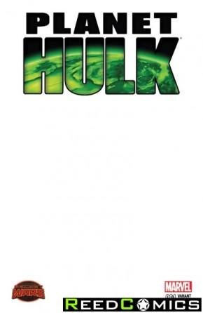 Planet Hulk #1 (Blank Variant Cover)