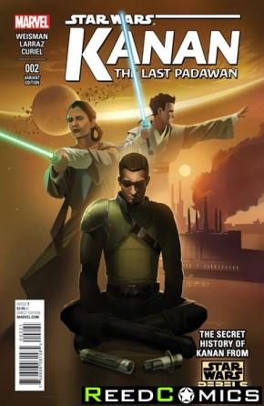 Kanan The Last Padawan #2 (1 in 25 CGI Character Incentive Variant Cover)