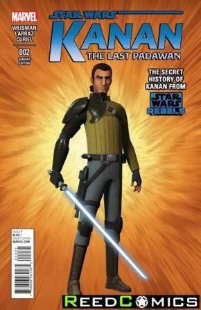 Kanan The Last Padawan #2 (1 in 15 Rebels Incentive Variant Cover)