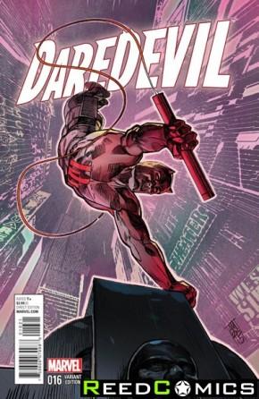 Daredevil Volume 4 #16 (NYC Variant Cover)