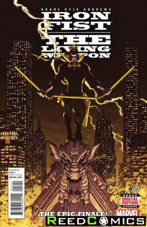 Iron Fist Living Weapon #12