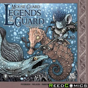 Mouse Guard Legend of the Guard Volume 3 #3