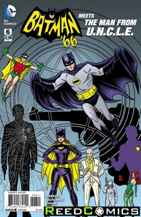 Batman 66 Meets The Man From Uncle #6