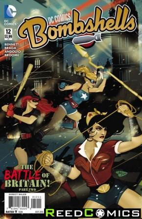 DC Comics Bombshells #12