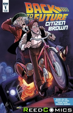 Back to the Future Citizen Brown #1