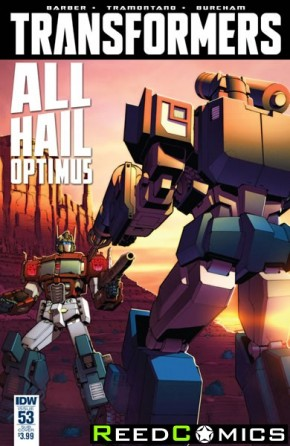 Transformers #53 (Subscription Variant Cover)