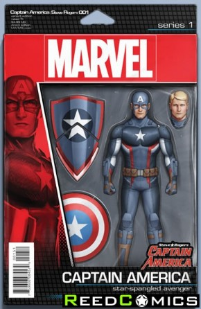 Captain America Steve Rogers #1 (Action Figure Variant Cover)