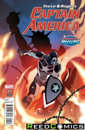 Captain America Steve Rogers #1 (Age of Apocalypse Variant Cover)