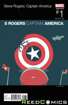 Captain America Steve Rogers #1 (Hip Hop Variant Cover)