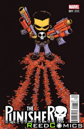 Punisher Volume 10 #1 (Skottie Young Baby Variant Cover)