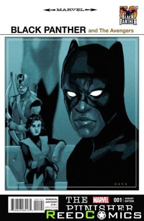 Punisher Volume 10 #1 (Black Panther 1 in 25 Incenitve Variant Cover)
