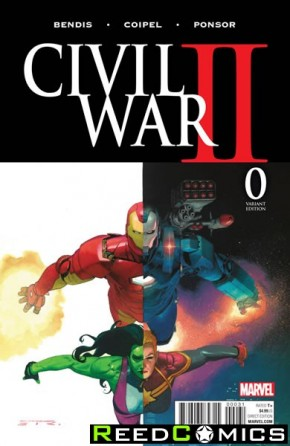 Civil War II #0 (Ribic Variant Cover)