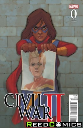 Civil War II #0 (1 in 10 Noto Kamala Incentive Variant Cover)