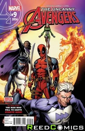 Uncanny Avengers Volume 3 #9