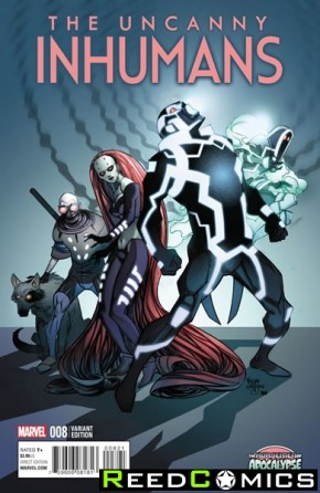 Uncanny Inhumans #8 (Age of Apocalypse Variant Cover)
