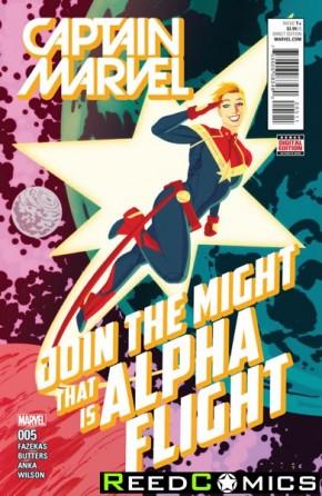 Captain Marvel Volume 8 #5