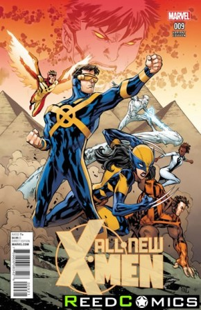 All New X-Men Volume 2 #9 (Lashley Connecting Variant Cover)