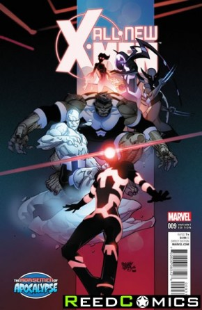 All New X-Men Volume 2 #9 (Age of Apocalypse Variant Cover)