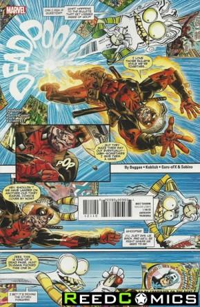 Deadpool Volume 5 #11 (Koblish Secret Comic Variant Cover)