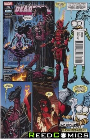 Deadpool Volume 5 #12 (Koblish Secret Comic Variant Cover)