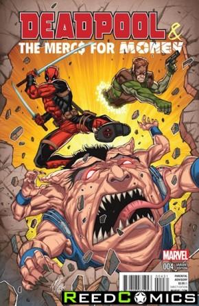 Deadpool Mercs for Money #4 (Lim Variant Cover)