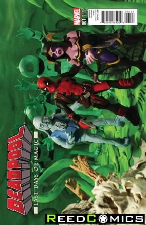 Deadpool Last Days of Magic #1 (Mr Oz Variant Cover)