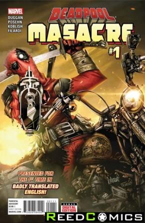 Deadpool Masacre #1