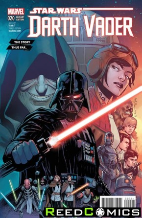 Darth Vader #20 (The Story Thus Far Variant Cover)