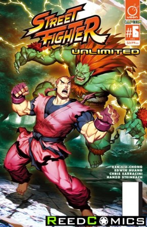 Street Fighter Unlimited #6 (Cover A)