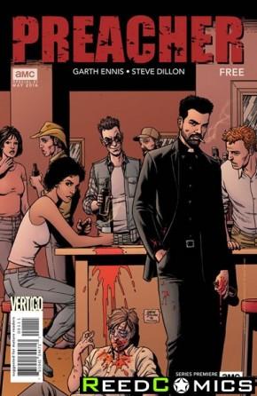 Preacher #1 AMC Promo Comic (Limit 1 per Customer Please)
