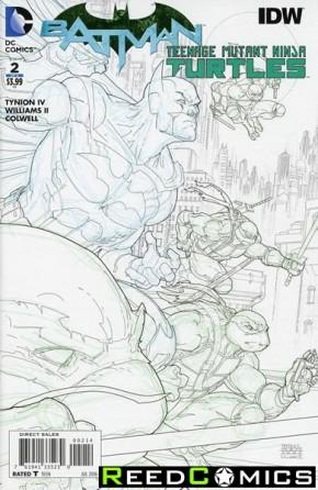 Batman Teenage Mutant Ninja Turtles #2 (4th Print)