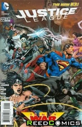 Justice League Volume 2 #22 (1st Print)