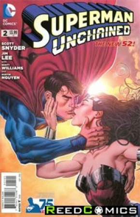 Superman Unchained #2 (75th Anniversary New 52 Variant Cover)