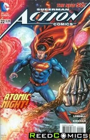 Action Comics Volume 2 #22