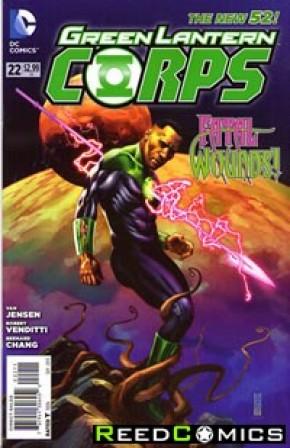 Green Lantern Corps Volume 3 #22