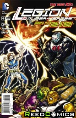Legion of Super Heroes Volume 7 #22