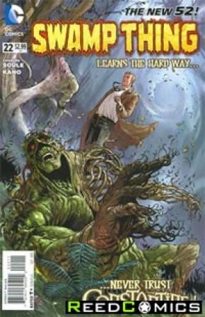 Swamp Thing Volume 5 #22