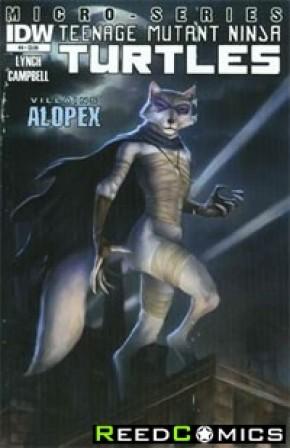 Teenage Mutant Ninja Turtles Villains Micro Series #4 Alopex